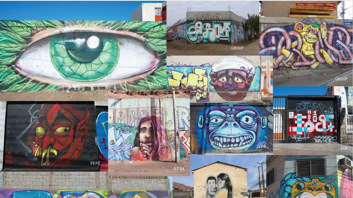 Catálogo muestra «La Ruta del Graffiti» de BAJ Antofagasta