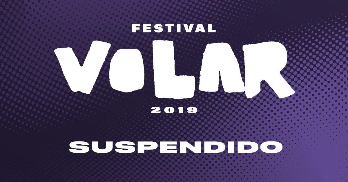 Suspensión Festival Volar!