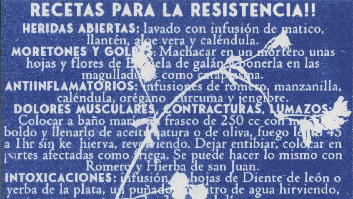 Recetas para resistir (en tiempos de crisis)